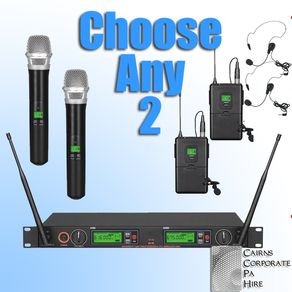 Wireless Microphones for Hire Cairns