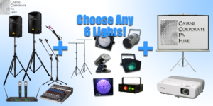 Audio Visual Hire Package Cairns