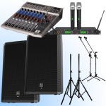 Powered PA System Hire Cairns