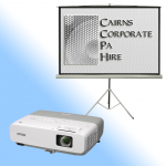 Projector and Projector Screen Hire Cairns